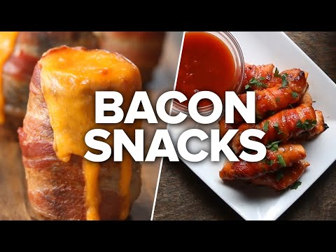 4 Easy Crispy Bacon Snacks