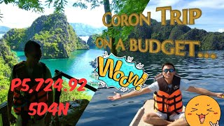 Tipid Travel Tips: Coron Trip on a Budget