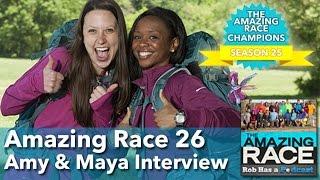 Amazing Race 26 Amy & Maya Interview LIVE | Monday, April 20, 2015