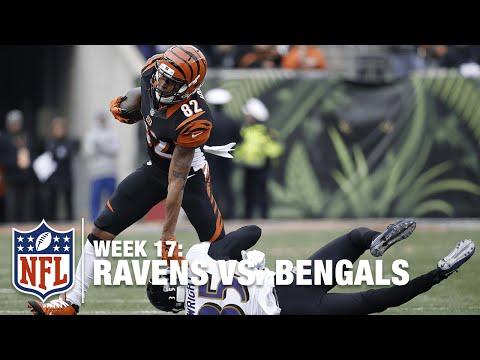 Bengals QB AJ McCarron Hits Marvin Jones for Big Gain!   Ravens vs. Bengals   NFL