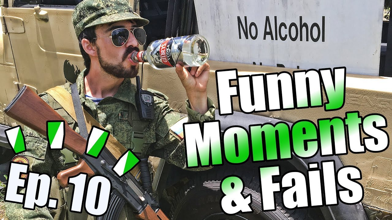 WORST GRENADE FAIL EVER!  [Airsoft Funny Moments and Fails Ep. 10]