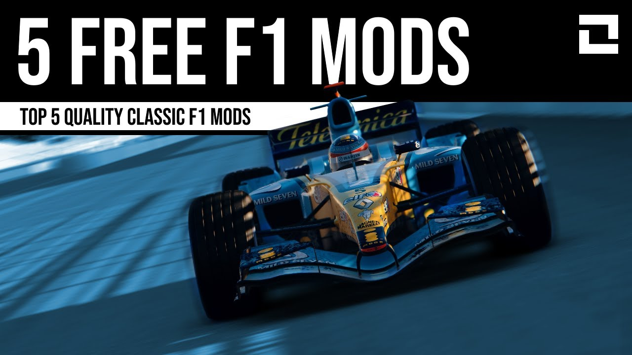 FREE F1 Car Mods for Assetto Corsa