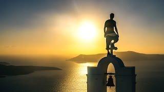 Santorini - White roofs under my feet // Team Jestion 4k