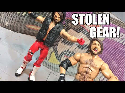 AJ STYLES WWE WRESTLEMANIA STORE EXCLUSIVE ACTION FIGURE REVIEW RAGE!