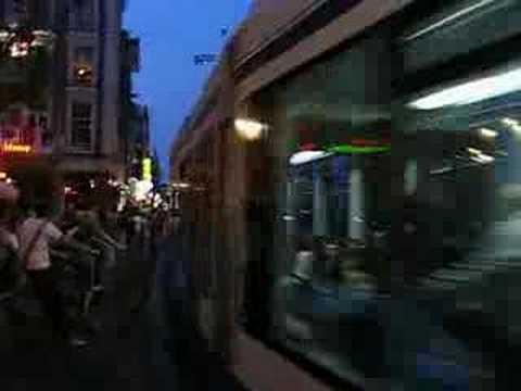 Amsterdamer Combino At Leidseplein