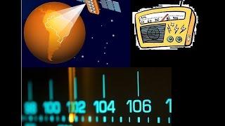 Rádios AM/FM via satélite Free (FTA)