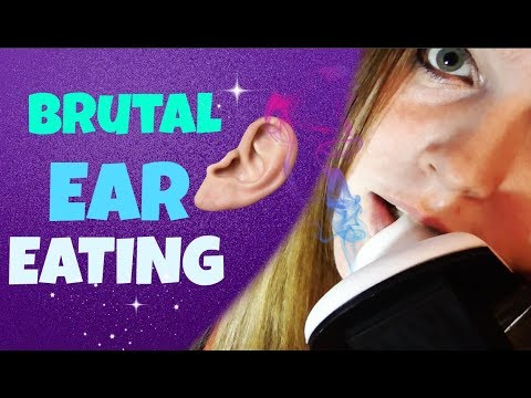 ASMR Brutal Deep Wet Intense Ear Eating 👅|For Tingle Virgins|