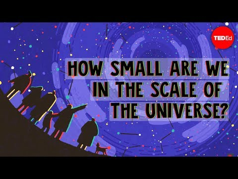 Thumbnail: How small are we in the scale of the universe? - Alex Hofeldt