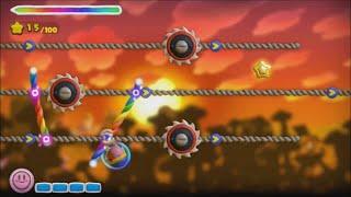 Kirby and the Rainbow Curse - 100% Walkthrough - Level 5-2 Gondola Ride
