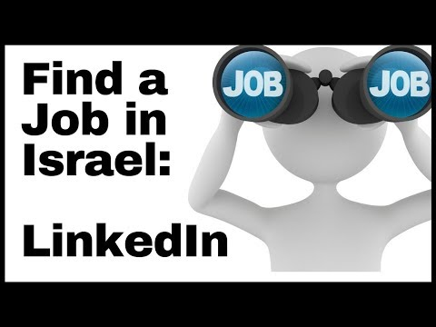 Find A Job In Israel In English.... Faster.