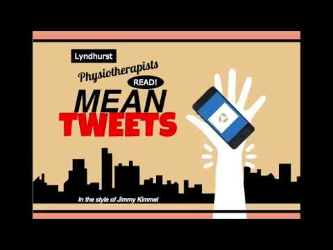 Physiotherapy Month: Physiotherapists Read Mean Tweets