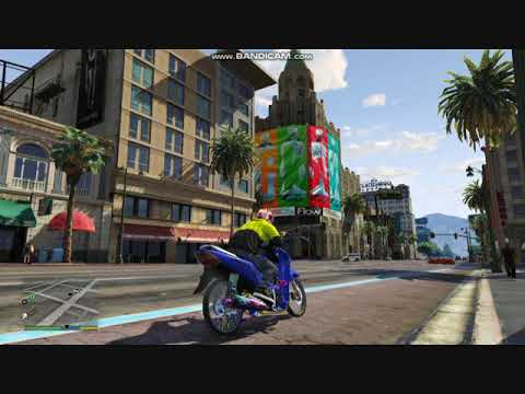 GTA 5: Honda Wave 125 Sound Mod
