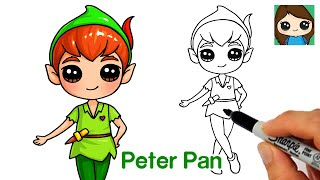 How to Draw Peter Pan | Disney