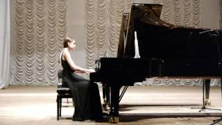 W. A. Mozart 12 Variations in B flat major KV.500 - Svitlana Rud