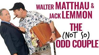 Walter Matthau & Jack Lemmon   The Not-So Odd Couple   A Docu-Mini
