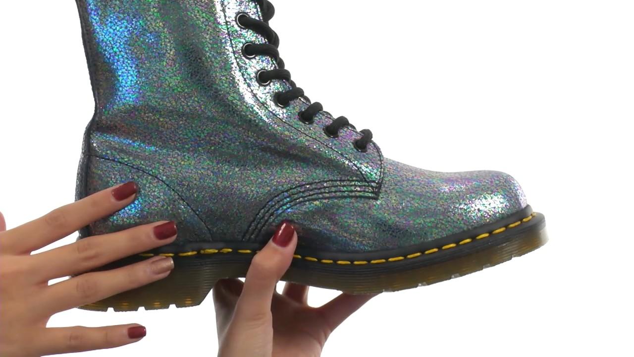pascal 8 eye boot glitter