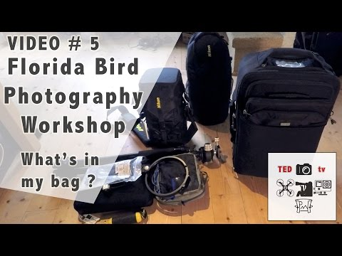 Florida Bird Photography Workshop - What's in My Bag?
