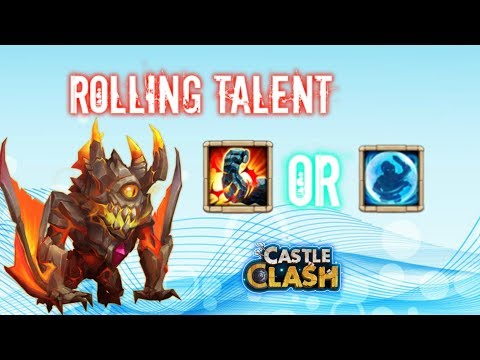 Rolling Talent For Ghoulem Stone Skin Or Bulwark Castle Clash