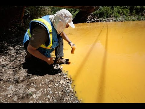 Wastewater from Colorado mine flows toward New Mexico, Utah