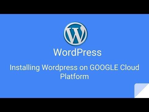 Google cloud and wordpress hosting