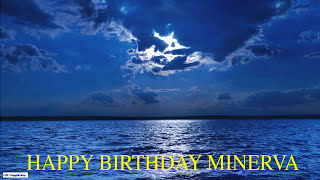 Minerva  Moon La Luna - Happy Birthday