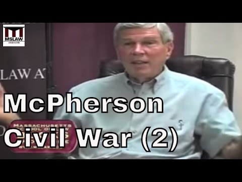 Civil War - James M. McPherson - This Mighty Scourge, Perspectives on the Civil War, part 2