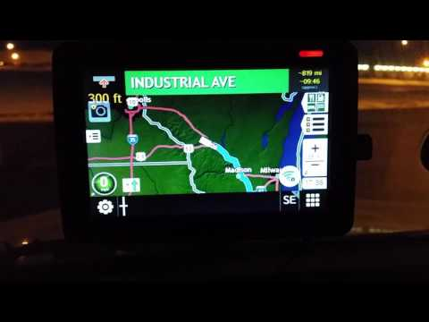 Rand McNally 530 vs garmin 570 review truck gps