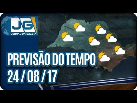 Previsão do Tempo - 24/08/2017