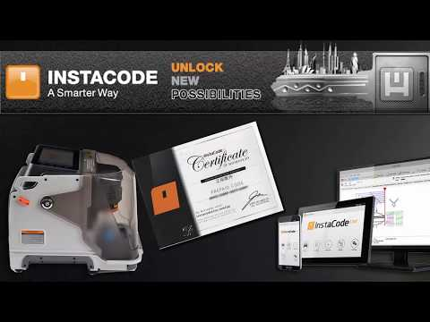 HOW TO ACTIVE & INSTALL INSTACODE GIFT WITH XHORSE CONDOR KEY CUTTING MACHINE