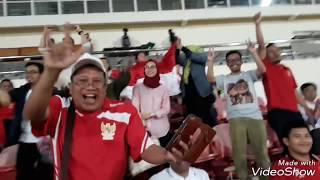 Heboh, Warga Indonesia Dukung PSM Makassar di Laos