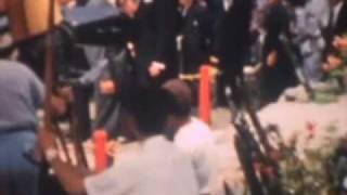 Filming of Sayonara,  Marlon Brando, Robert Wagner in Stopover Tokyo