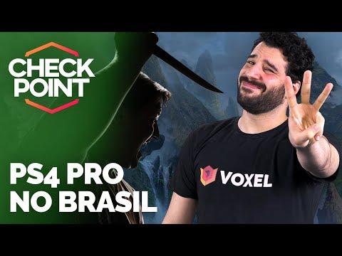 PS4 PRO CHEGANDO NO BRASIL, NOVO GAME DE DRAGON BALL E BLIZZARD WORLD - Checkpoint