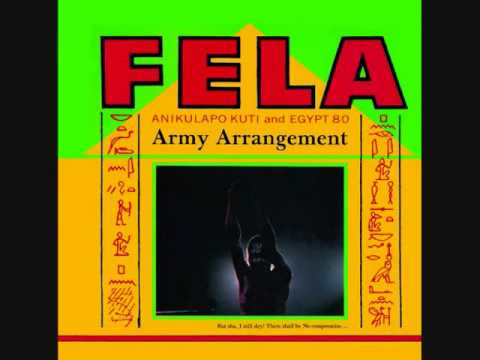 Fela Kuti (Nigeria, 1985)  -  Army Arrangement (Full Album)