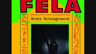 fela kuti nigeria 1985 army arrangement full album