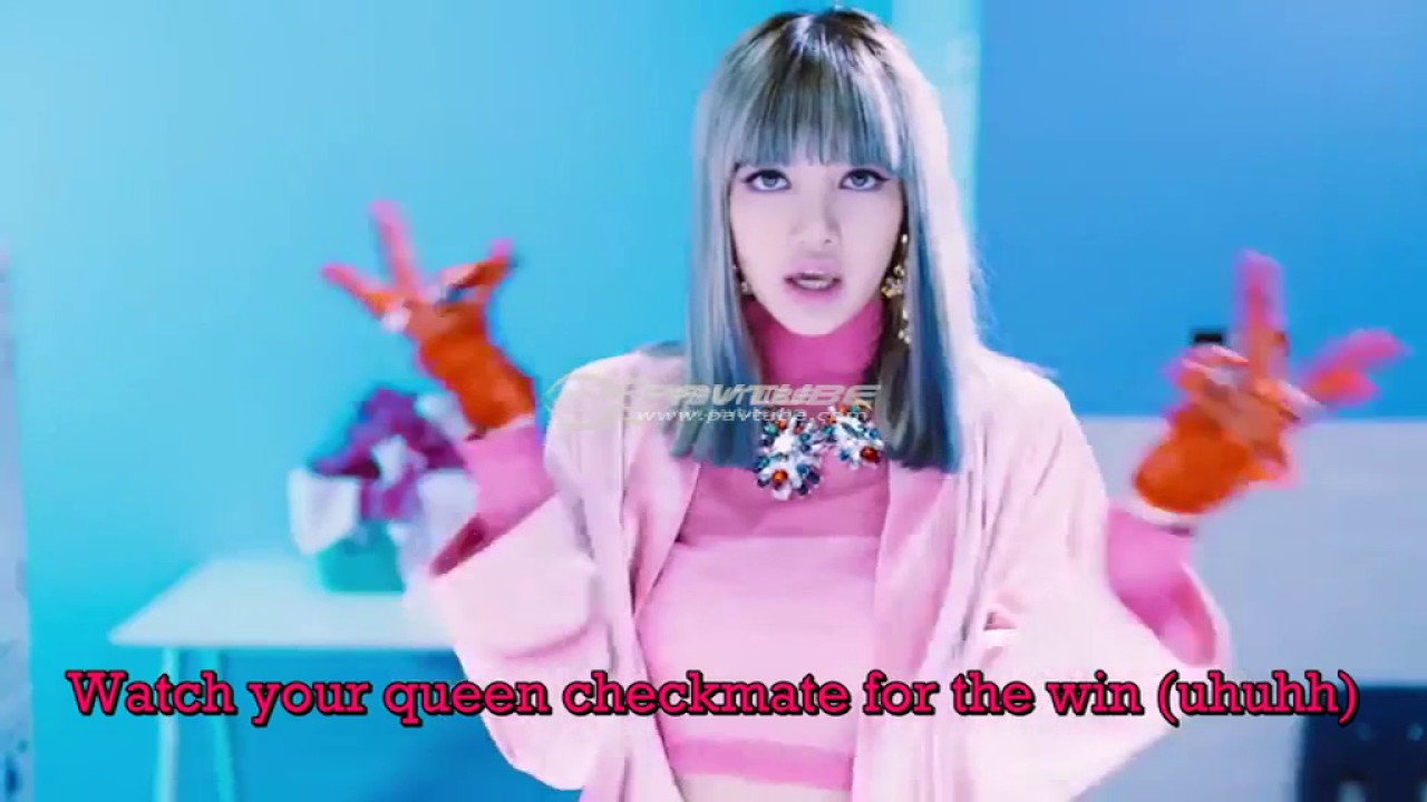 Blackpink Whistle Lisa English Rap Lyrics Youtube