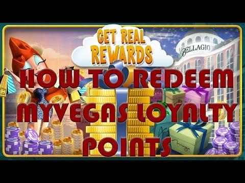 How To Redeem MyVegas Rewards