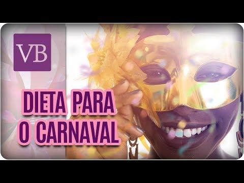 Dieta Para Entrar em Forma Para o Carnaval - Você Bonita (29/01/18)
