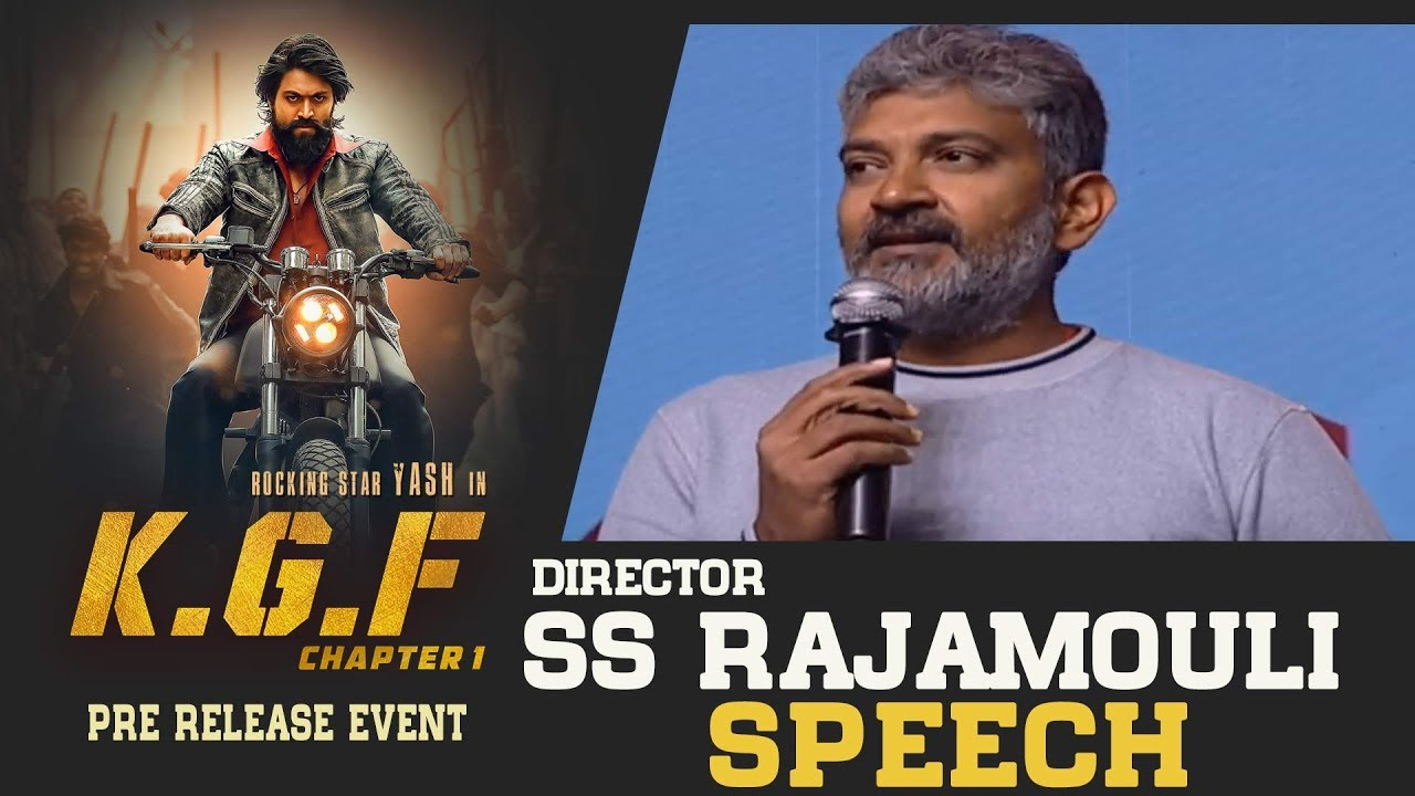 Download Director SS Rajamouli Superb Speech @ KGF Movie Pre Release Event