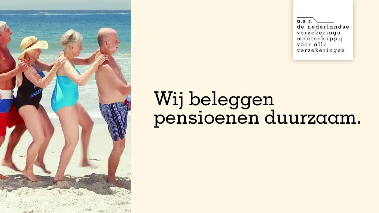 a.s.r. : Pensioenen duurzaam beleggen -  a.s.r. doet het