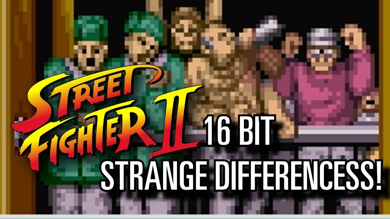 Street Fighter Ii Crazy 16 Bits Differences