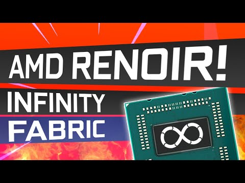Amd Renoir Infinity Fabric Clock Speed Is Fast 2100 Mhz Youtube