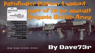 Battlefield 4 - The Pathfinder Loadout/Support KIT - PS4