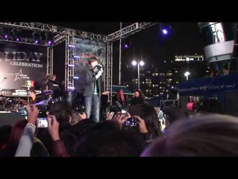 Greyson Chance - Waiting Outside the Line -- L.A. Live [HQ]