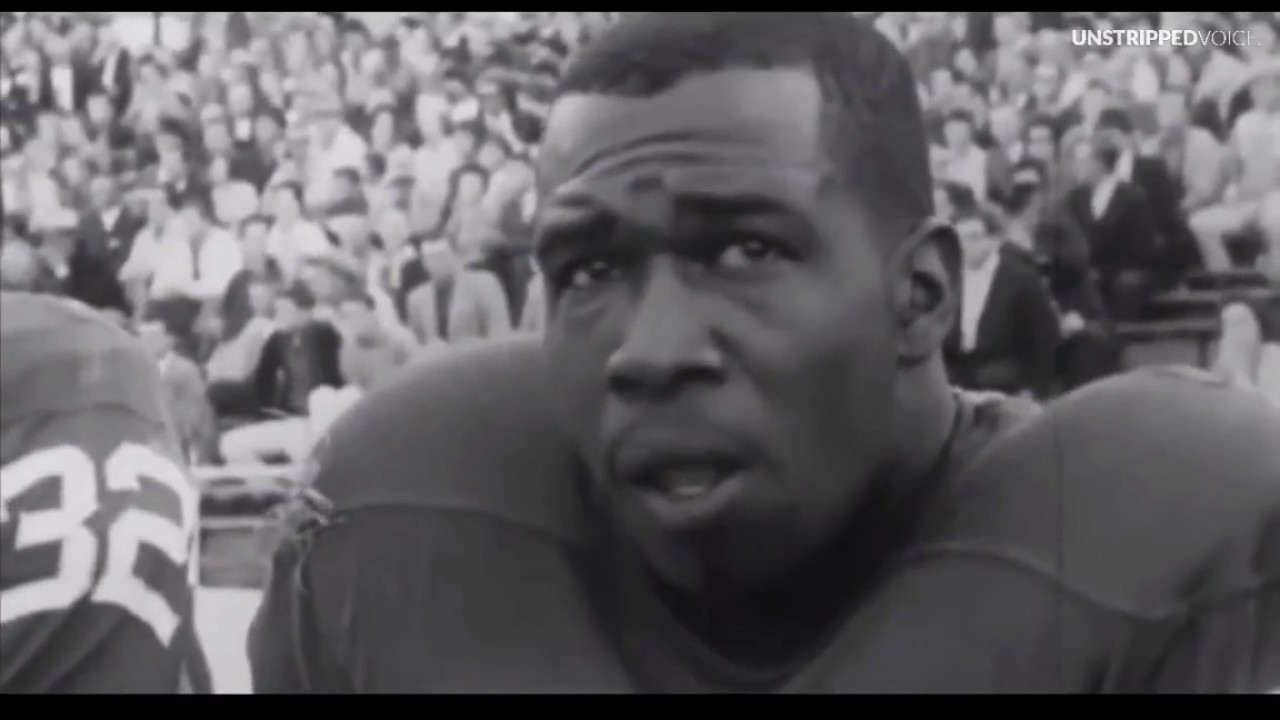 RARE: BLACK PROFESSIONAL FOOTBALL PLAYERS BOYCOTTED A GAME IN 1965