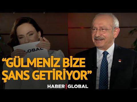 Kemal Kılıçdaroğlu'ndan Buket Aydın'a: Gülmeniz Bize Şans Getiriyor, Bir Tek Bur