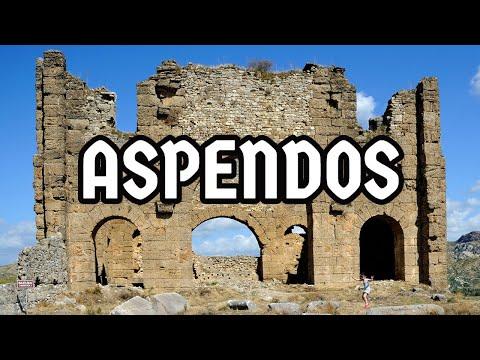 A Tour of the Incredible Roman City of ASPENDOS