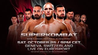 Event Teaser: Superkombat World Grand Prix Final Elimination™ - Geneva, Switzerland