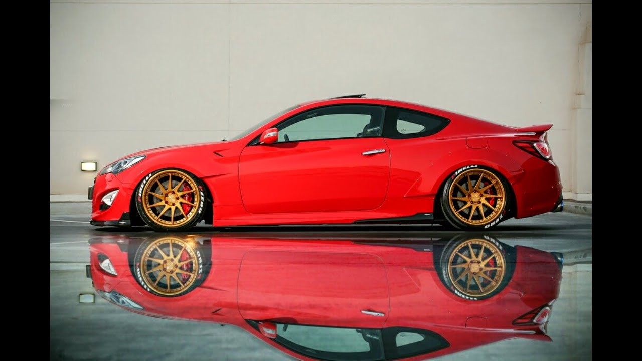 Haitham S Hyundai Genesis Coupe With Unr Wide Body Avent