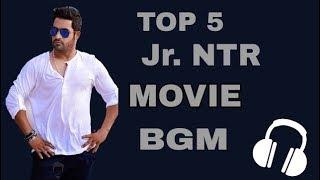 Jr.NTR Top5 Movie BGM / Ringtones || Feel The BGM