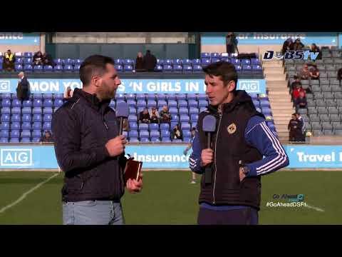 Ballyboden St Endas manager Anthony Rainbow speaks to DubsTV after win over Castleknock